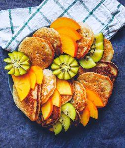 Lemon & Cardamom Pancakes