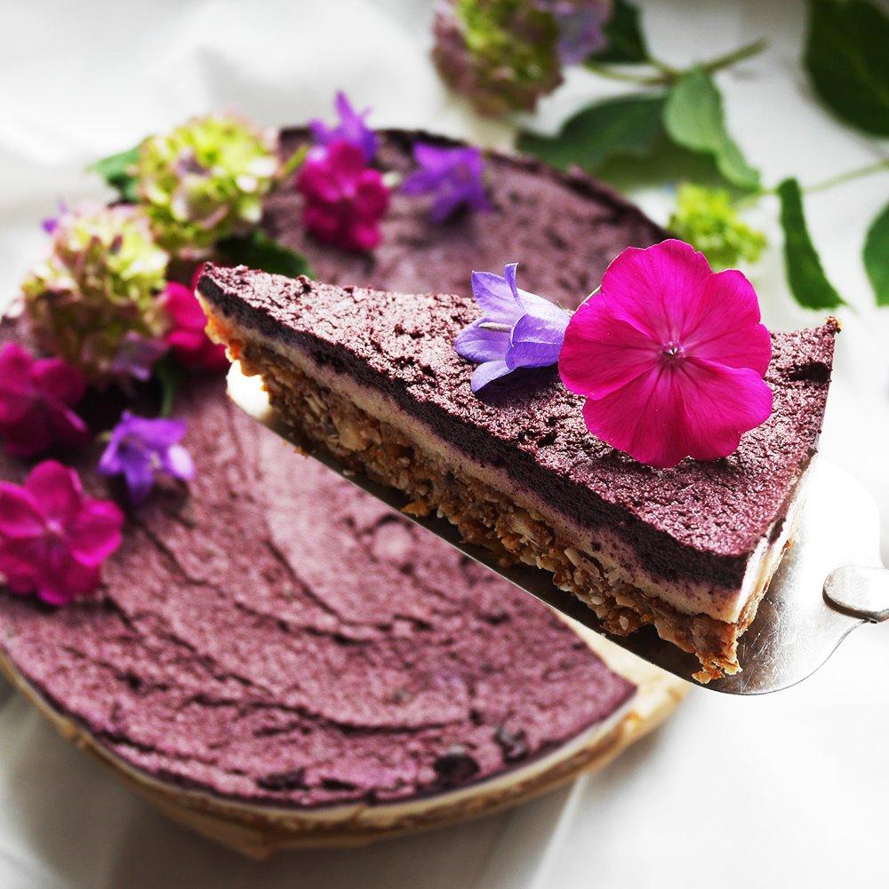 Blueberry Raw Cake